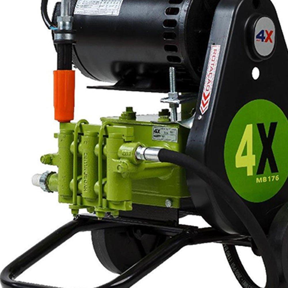 Lavadora JHF 4X MB 176 600PSI 2CV  Móvel com Mangueira e Pistola - Imagem zoom