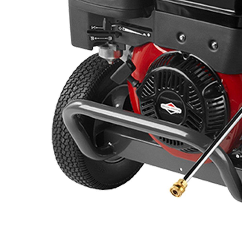 Lavadora de Alta Pressão 4000 PSI à Gasolina com Rodas - Imagem zoom