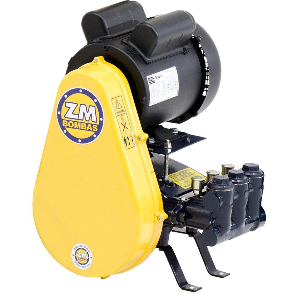 lavadora de alta press u00e3o motor weg 3 0 cv 30litros  min 500libras trif u00e1sico 220  380v