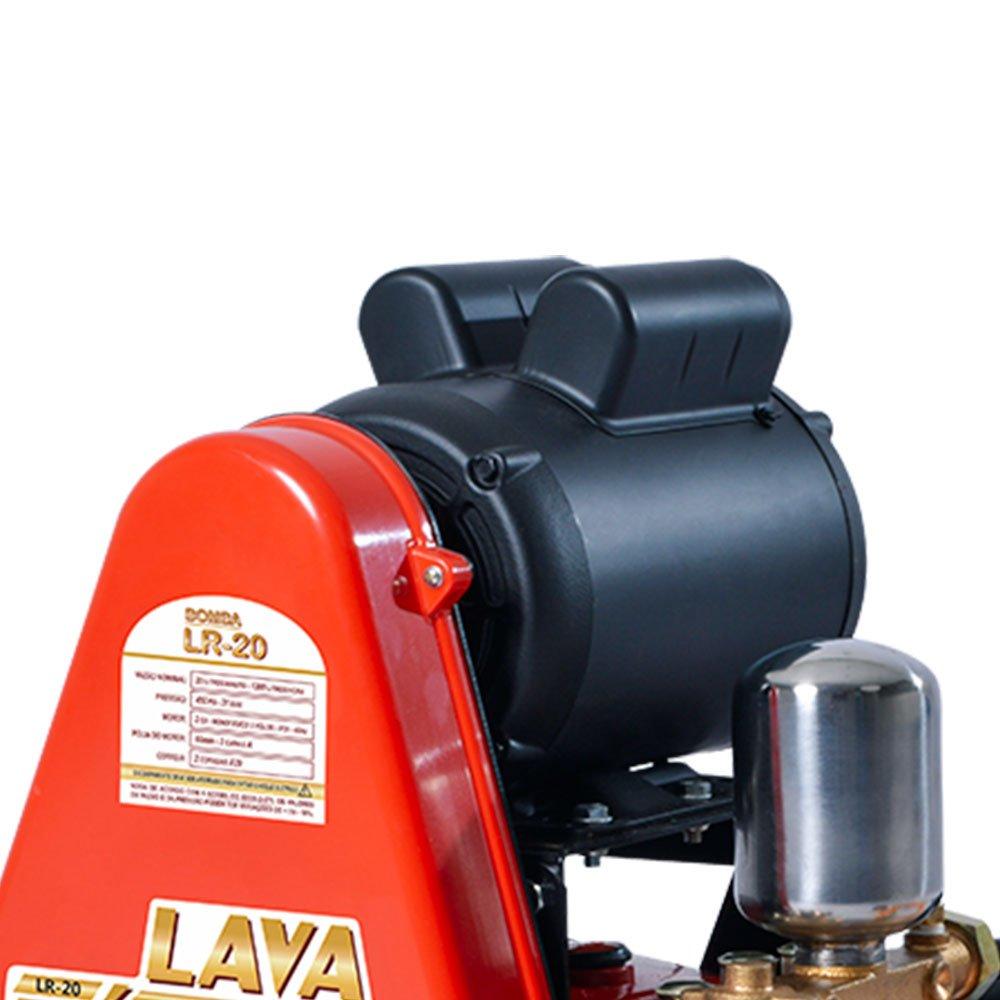 Lavadora de Alta Pressão LR20 Motor WEG 2.0CV 20Litros/Min 450Libras Mono Bivolt - Imagem zoom