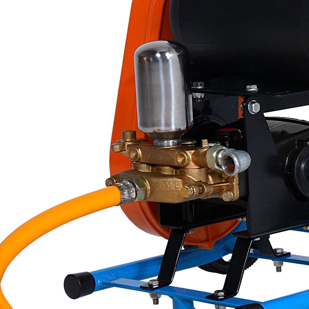 Lavadora de Alta Pressão Motor WEG 2.0CV 450 Libras 20 L/min Mono 110/220V com Carrinho - Imagem zoom