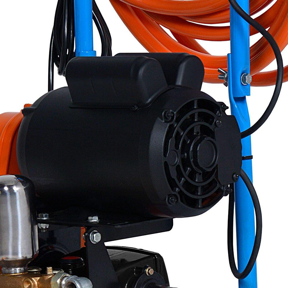 Lavadora de Alta Pressão Motor WEG 3CV 450 Libras 28L/min Bivolt Mono com Carrinho - Imagem zoom