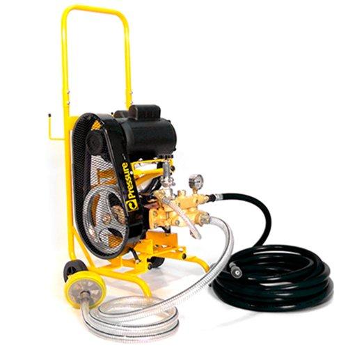 lavadora de alta pressão 3cv 360lbs trifásica com carrinho