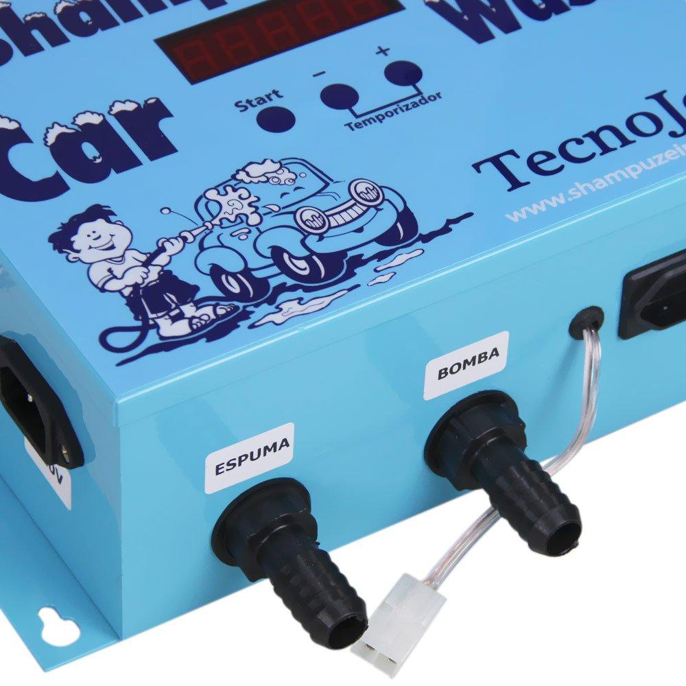 Kit Shampoozeira Eletrônica  com Kit com Mangueira - Imagem zoom