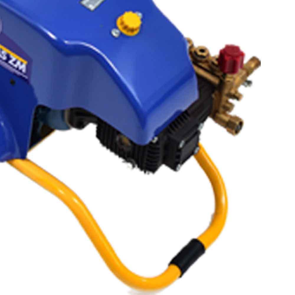 Lavadora Industrial de Alta Pressão com Motor Weg Ip55 Monofásico 1050PSI 3CV  - ZM 12/1300 - Imagem zoom