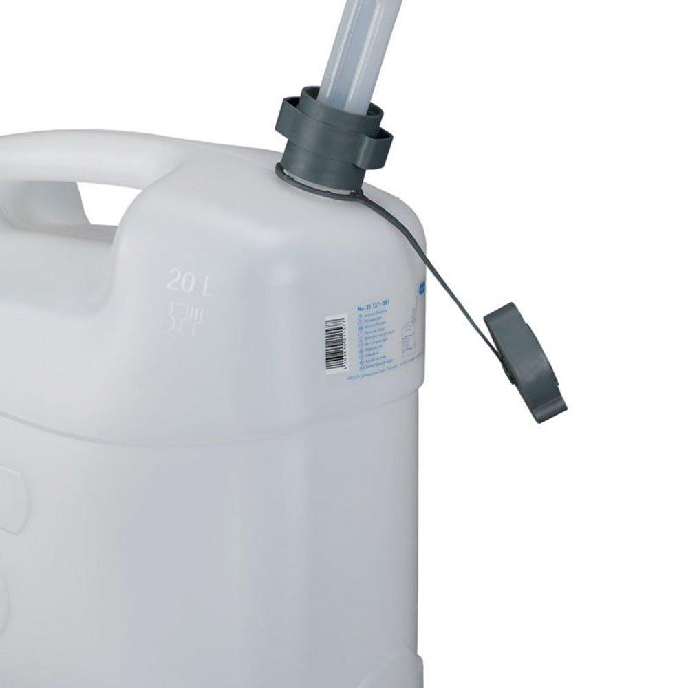 Galão de Polietileno Branco para Água 20 Litros com Extensão - Imagem zoom