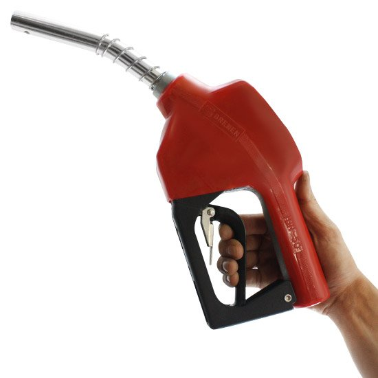 Bico Automatico para Combustível Vermelho 1/2 Polegadas - Imagem zoom