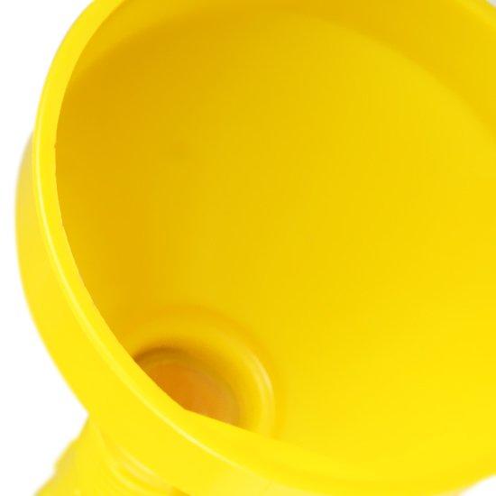 Funil Plástico com Extensão Flexível 2 em 1  - Imagem zoom