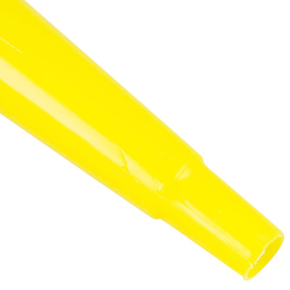 Funil de Polietileno Amarelo com Extensão Flexível 135mm - Imagem zoom