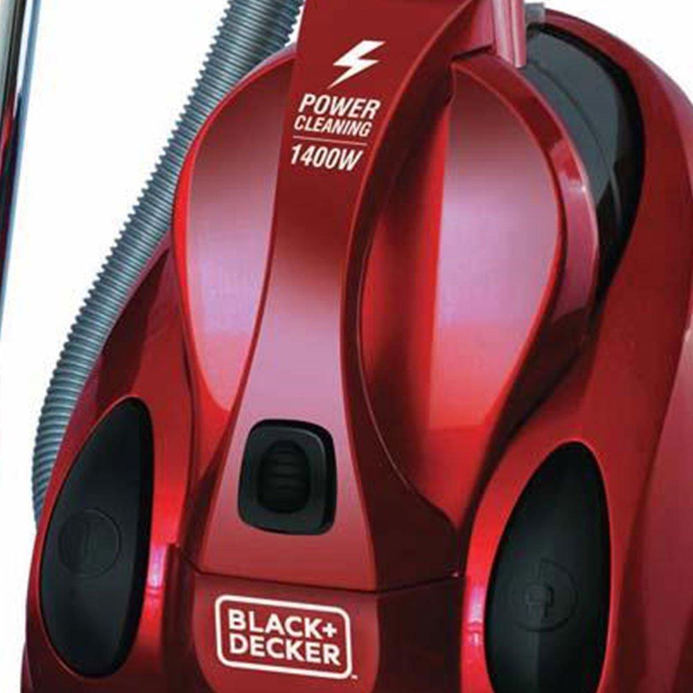 Aspirador de Pó Vermelho Ciclônico 2L 1400W  - Imagem zoom