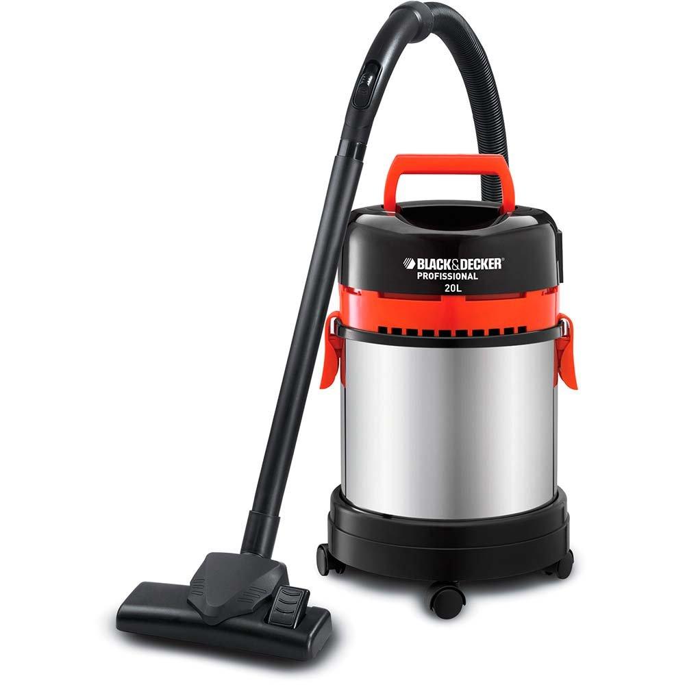 Aspirador de Água e Pó com Tanque em Inox e Filtro EPA 20 Litros 1400W  - Imagem zoom