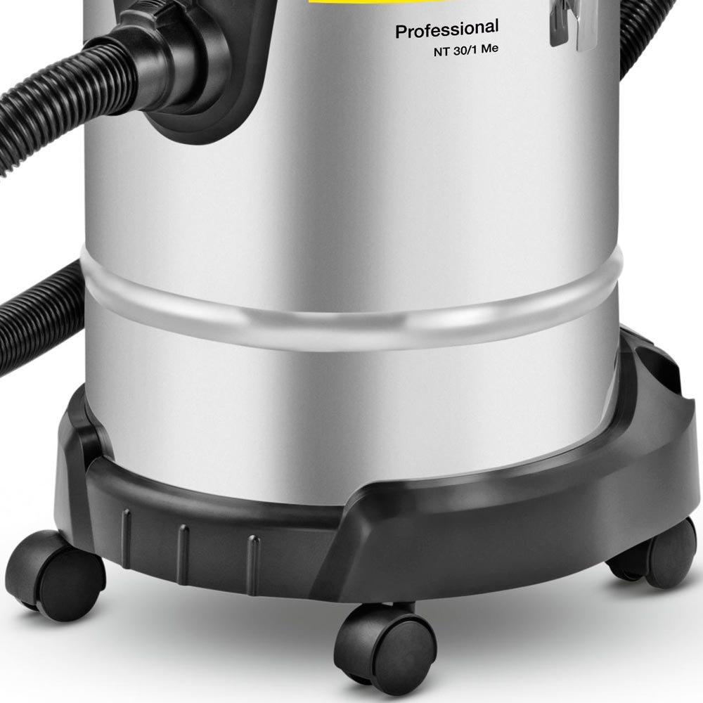 Aspirador Pó e Líquido em Inox NT 30/1 Me 1200W 30 Litros  - Imagem zoom