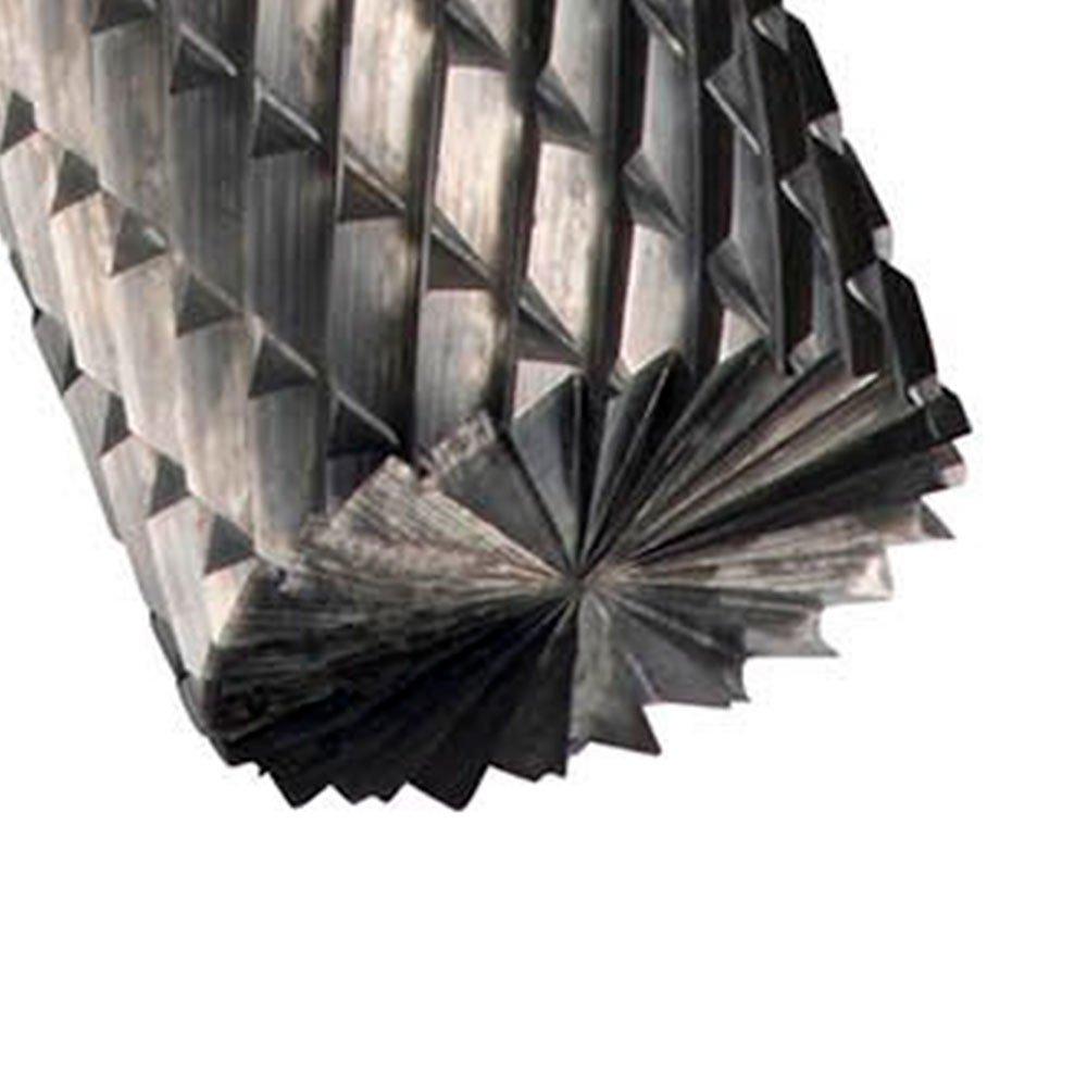 Lima Rotativa Cilíndrica com Corte no Topo 8 x 6mm - Imagem zoom