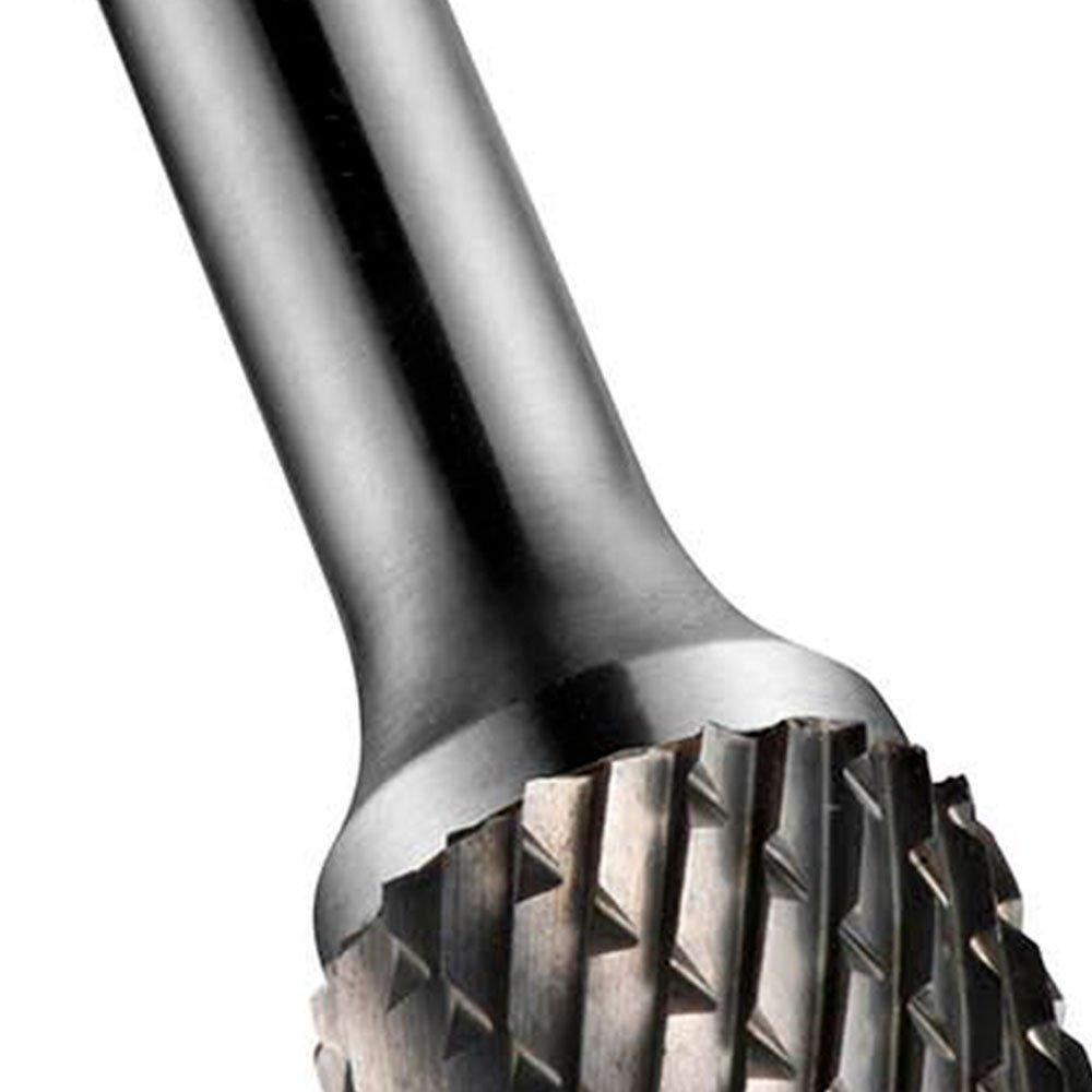 Lima Rotativa Cilíndrica com Topo Esférico 12,7 x 6mm - Imagem zoom