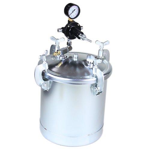 tanque de alimentação por pressão para pintura de 10 litros com kit