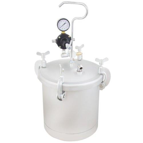 tanque de pressão 8 litros para pintura com pistola e mangueira