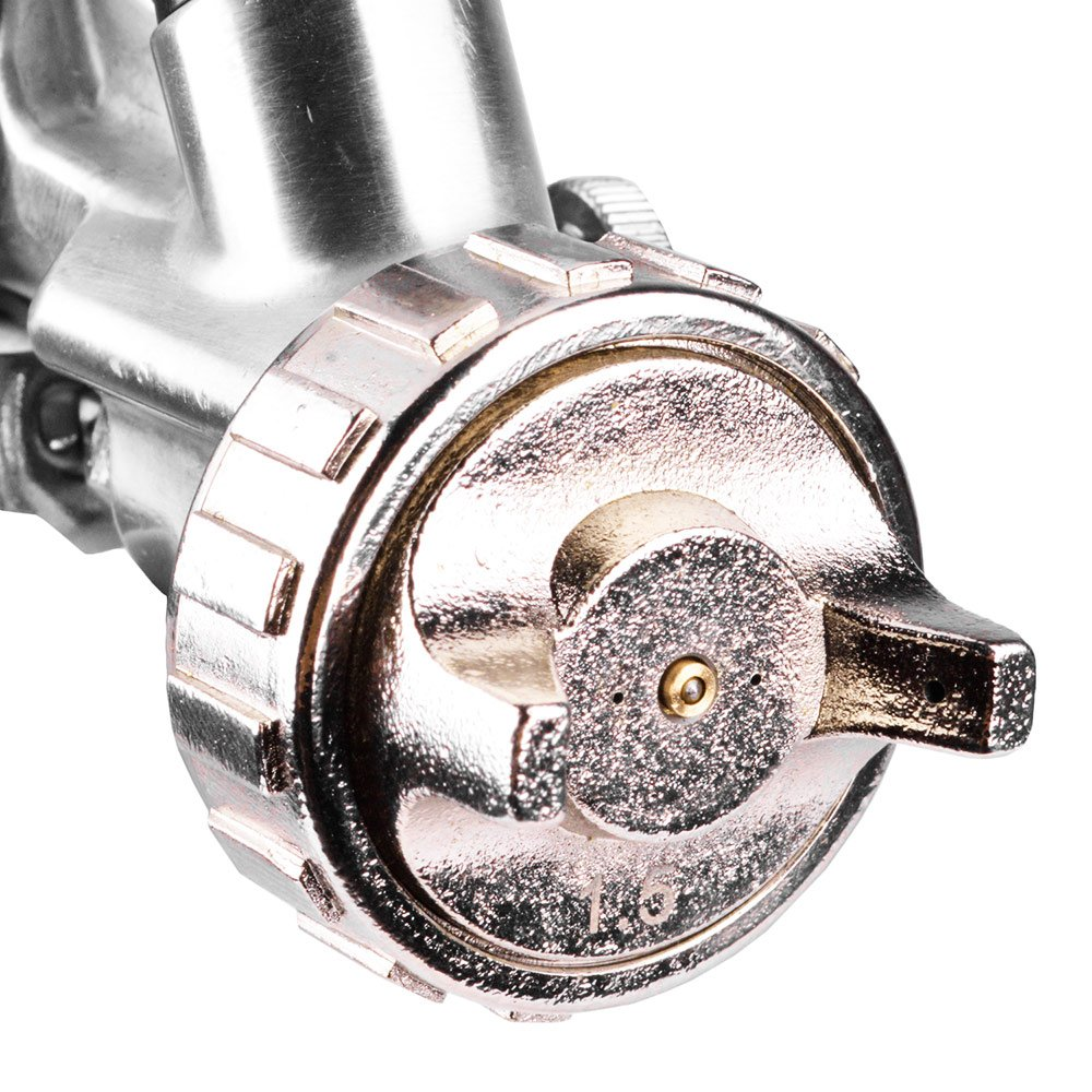 Pistola de Pintura Baixa Produção 1.5 mm 600 ml Tipo Gravidade - Imagem zoom
