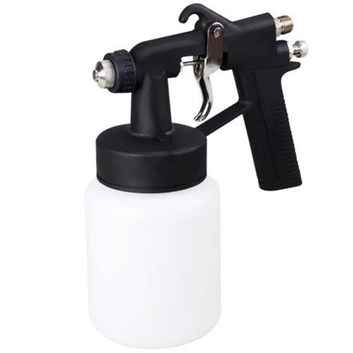 pistola pintura ar direto bico de 2mm caneca plástica 1000ml