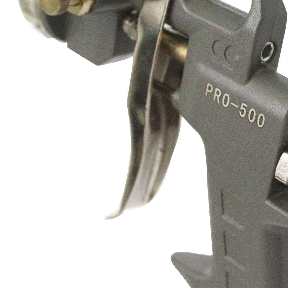 Pistola para Pintura Tipo Gravidade 1,5 mm 500ml - Imagem zoom