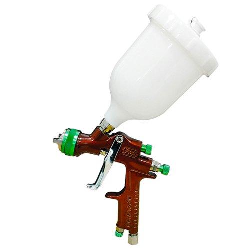pistola para pintura hvlp tipo gravidade 2.0mm 600ml para primer