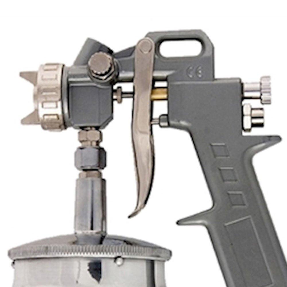 Pistola Pneumática para Pintura com Tanque Baixo 750ml - Imagem zoom