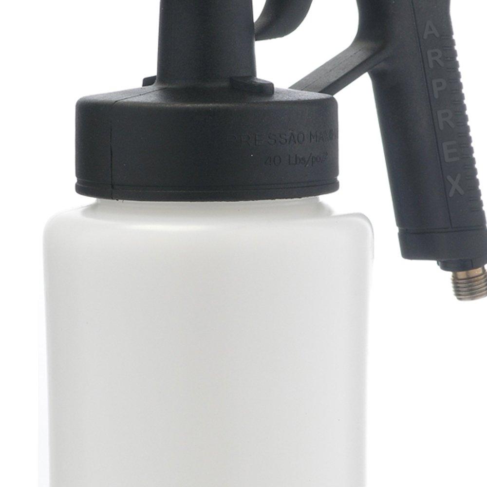 Pistola de Pintura Baixa Pressão 90S 650ml com Bico de 1,2mm e Válvula - Imagem zoom