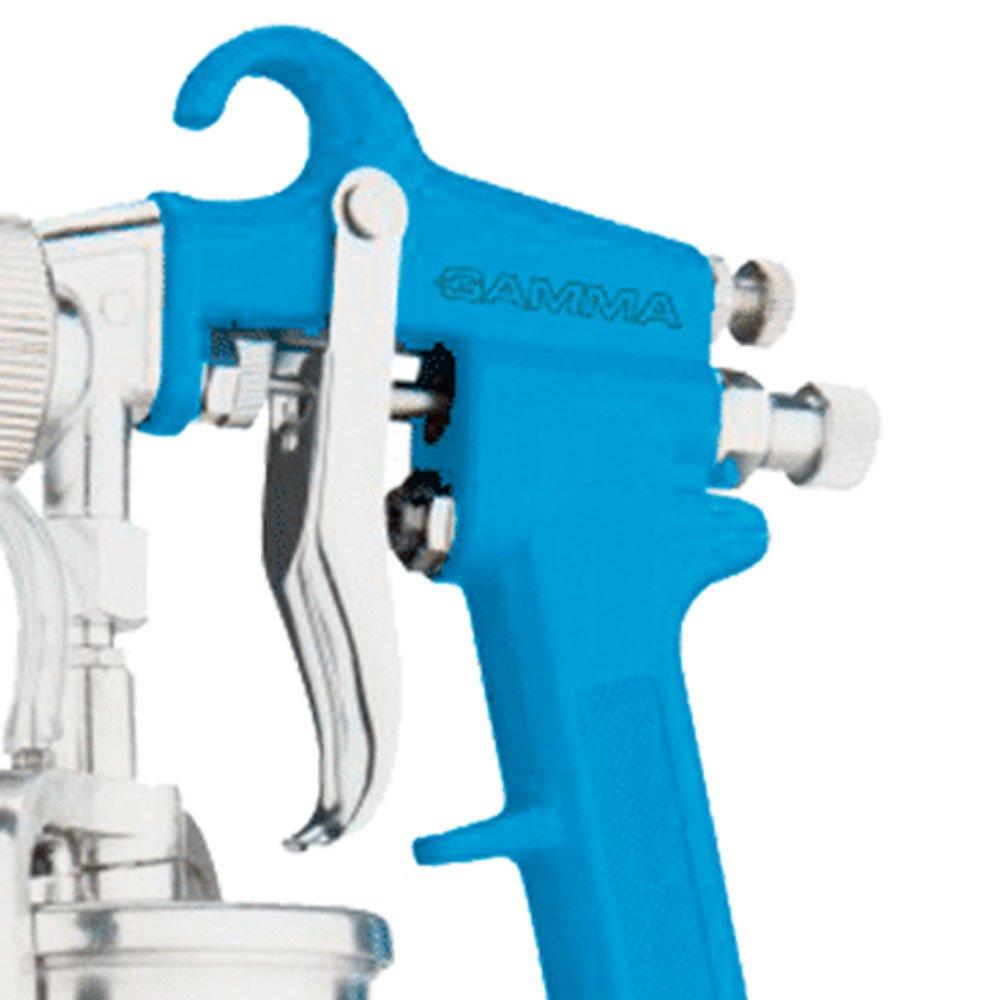 Pistola para Pintura por Sucção com Bico 2mm e Caneca de 1000ml - Imagem zoom