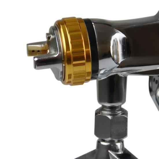 Pistola de Sucção HVLP 1 Litro com Caneca em Alumínio - Imagem zoom