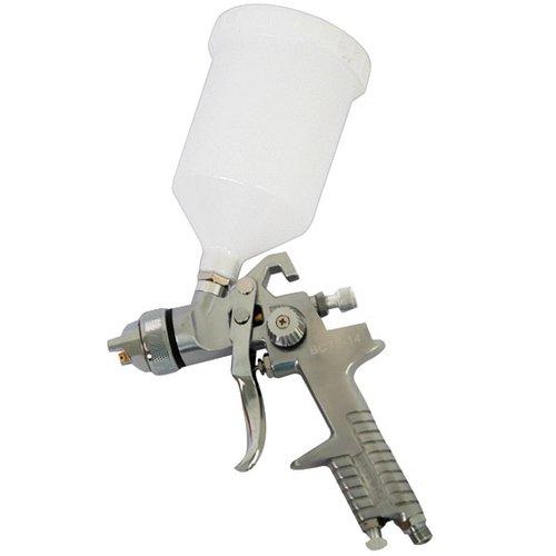 pistola de pintura hvlp 600 ml e bico 1.4 mm