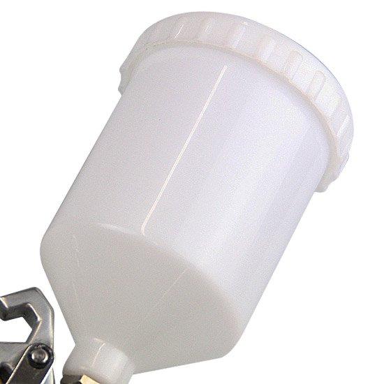 Pistola para Pintura HVLP com Caneca de Plástico e Bico 1.7 mm - Imagem zoom