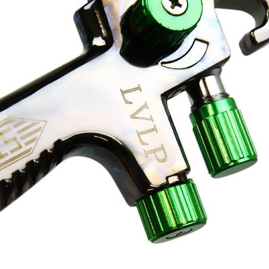 Pistola para Pintura LVLP com Caneca Plástica Bico 1.3 mm - Imagem zoom