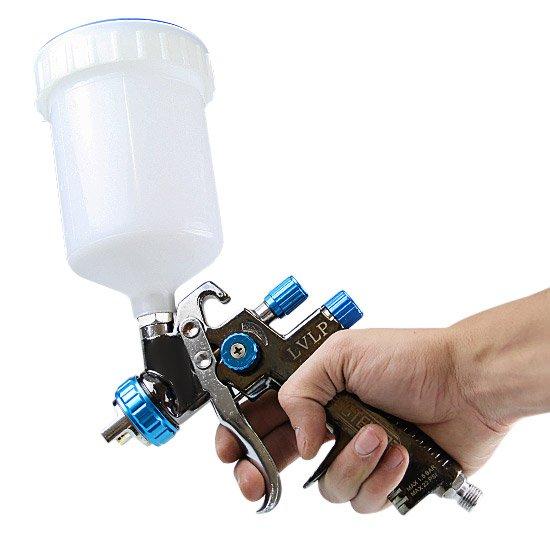 Pistola para Pintura de LVLP com Caneca Plástica Bico 1.4 mm - Imagem zoom