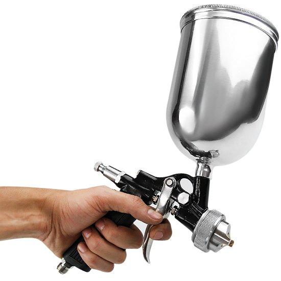 Pistola de Pintura tipo Gravidade 2,5mm 850ml - Imagem zoom