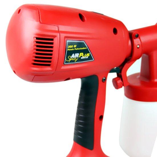 Pistola Pulverizadora Elétrica Air Plus Spray 300 W  - Imagem zoom