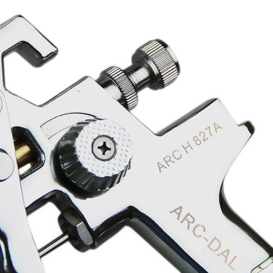 Pistola de Pintura HVLP com Bico de 1,4 e 1,7 mm com Caneca de 600 ML - Imagem zoom