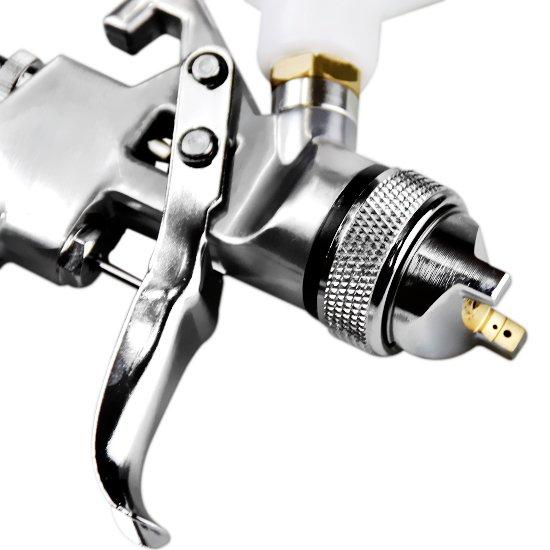 Pistola de Pintura HVLP Plus de Gravidade com Bico de 1,4 mm 600 ML - Imagem zoom