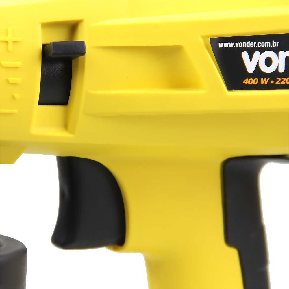 Pistola Elétrica para Pintura 400W  - Imagem zoom