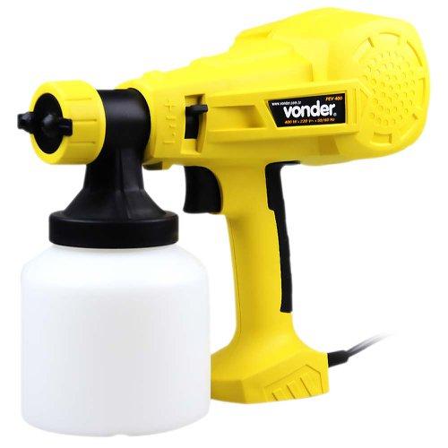 pistola elétrica para pintura 400w 220v