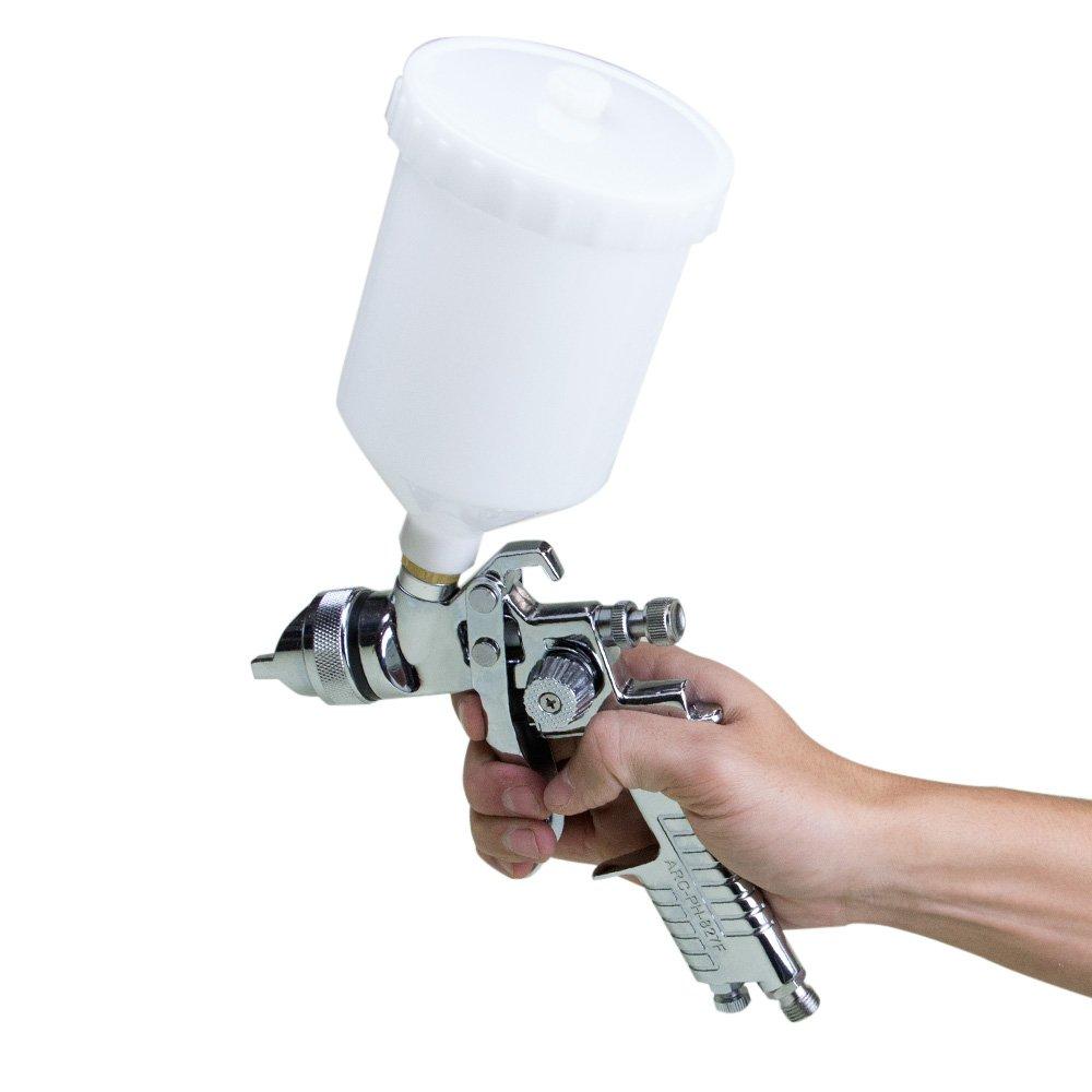 Pistola de Pintura HVLP 600ml e Bico de 1.4mm - Imagem zoom