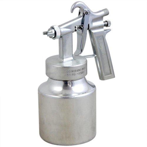 pistola de pintura de ar direto de alumínio com bico de 1,3mm