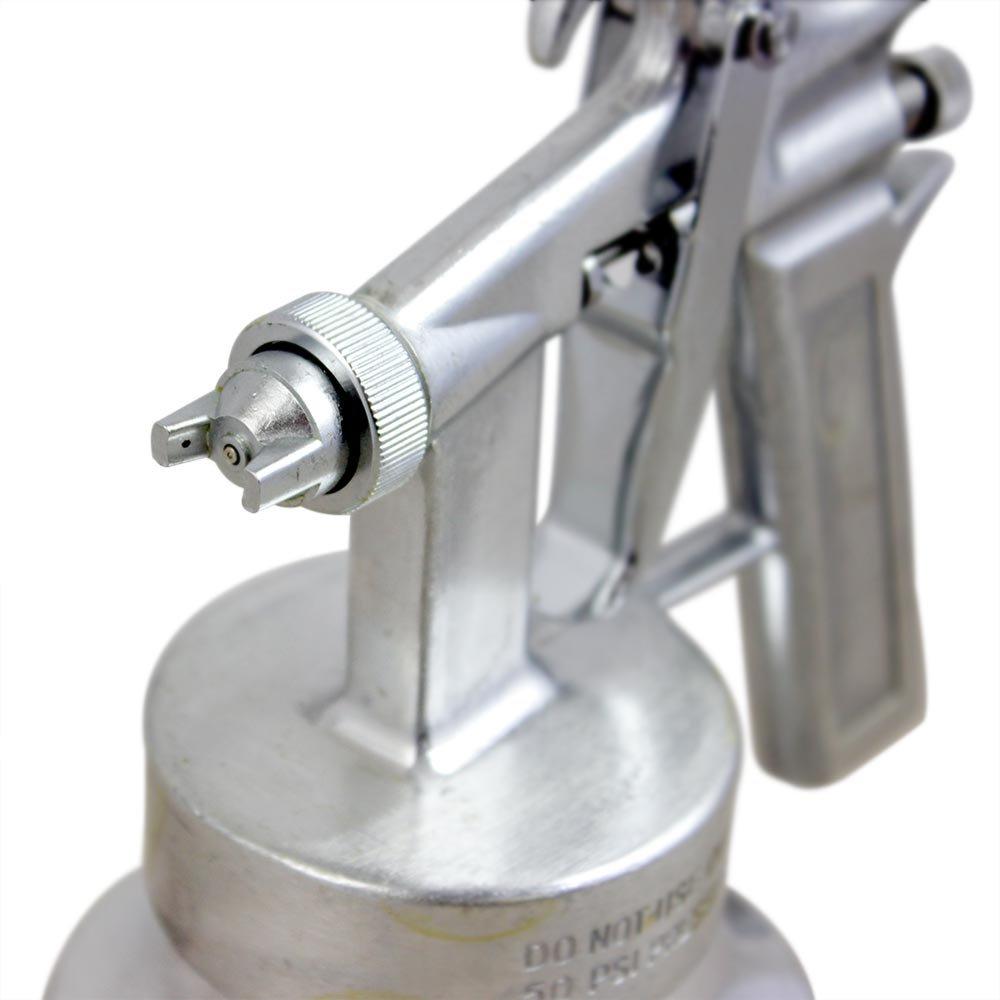 Pistola de Pintura de Ar Direto de Alumínio com Bico de 1,3mm - Imagem zoom