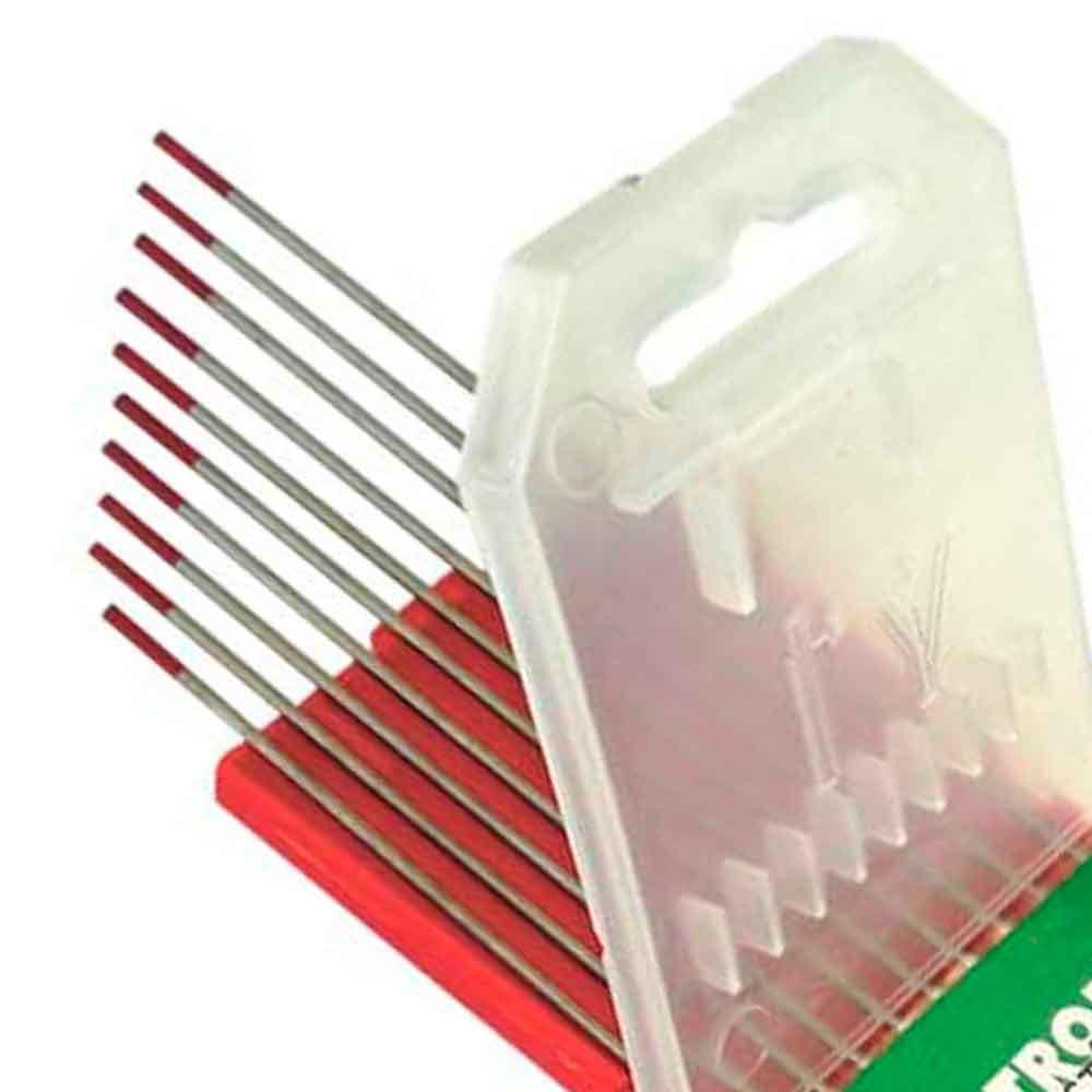 Eletrodo Tungstenio 2 Por Cento Tório 1,0mm x 150mm - Imagem zoom