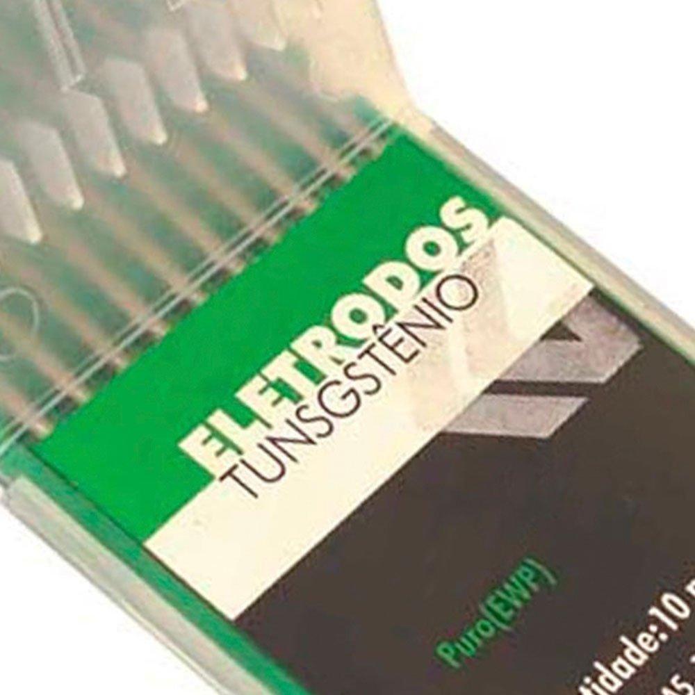 Eletrodo de Tungstênio - Puro de 1/16 Pol. x 150mm - Imagem zoom
