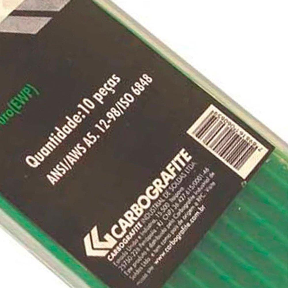 Eletrodo de Tungstênio Puro de 3/32 Pol. x 150mm  - Imagem zoom