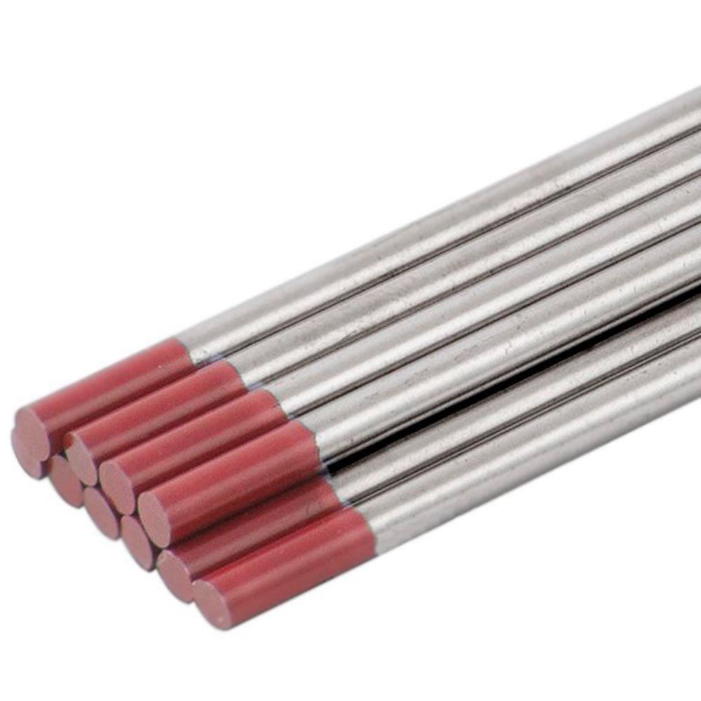 Eletrodo de Tungstênio com 2 Por Cento de Tório 1/8X6 Pol. com 10 Unidades - Imagem zoom