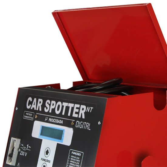 Car Spotter Rebatedora NT Digital + Protetor de Bateria - Imagem zoom
