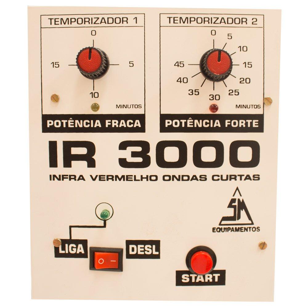 Painel de Secagem Rápida com Caixa de Comando IR 3000 e Rodas - Imagem zoom