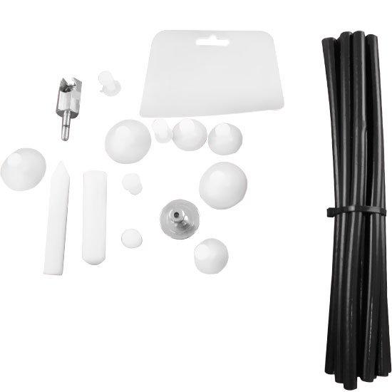 Kit de Acessórios para Rebatedora Com cola Quente - Imagem zoom