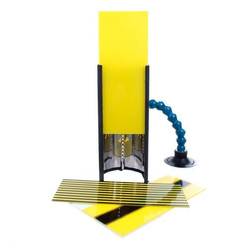 lâmpada para martelinho de ouro - led bivolt  com cabo de bateria