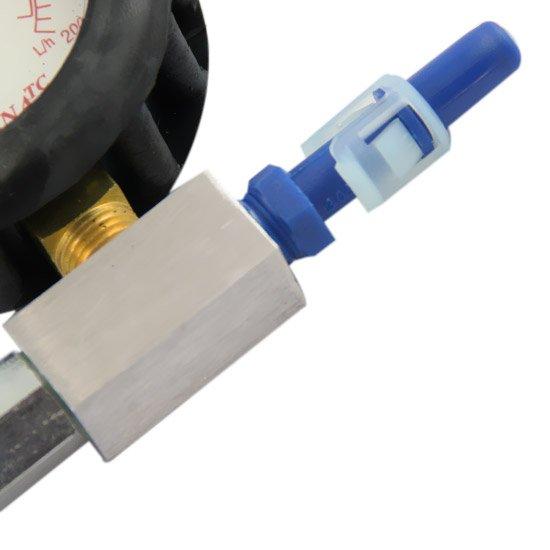 Medidor de Vazão da Bomba de Combustível Analógico - Imagem zoom